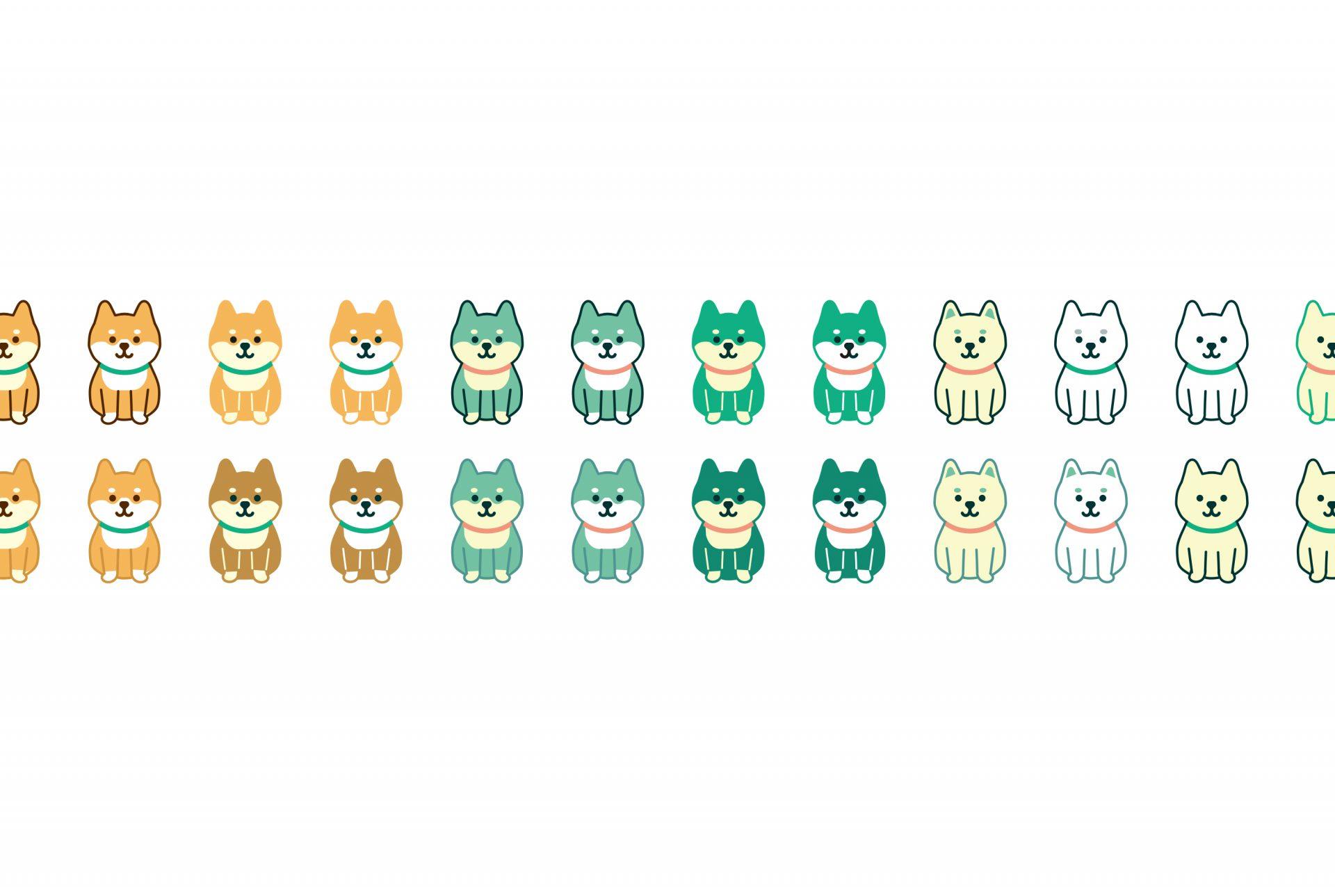 【開発秘話その1】犬のキャラクター『Hachi』のデザイン誕生まで。
