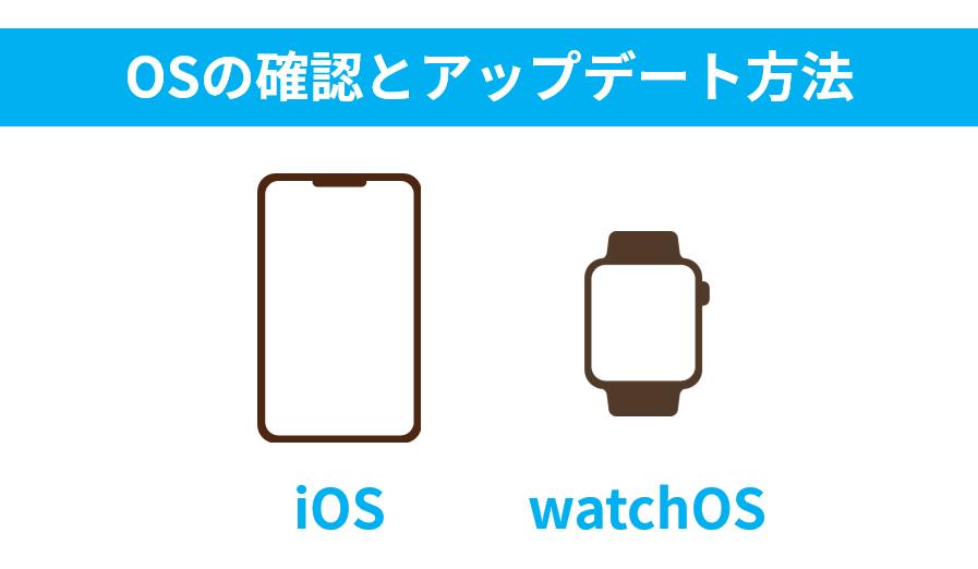 iOSとwatchOSのバージョン確認とアップデート方法について