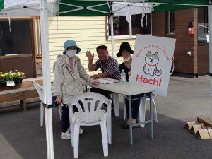 『田山の恵み軽トラ市』にてHachiのお披露目をしてきました!